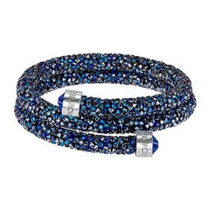 Swarovski-Crystaldust-Bangle-Double-Blue-5237752-W360