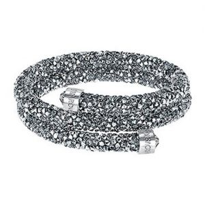 Swarovski-Crystaldust-Bangle-Double-Gray-5237762-W360