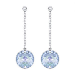 Swarovski-Globe-Pierced-Earrings-Blue-5261060-W360