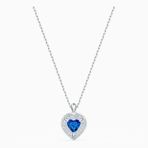 one-pendant–blue–rhodium-plated-swarovski-5511541