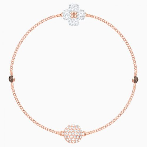 swarovski-remix-collection-clover-strand–white–rose-gold-tone-plated-swarovski-5375185